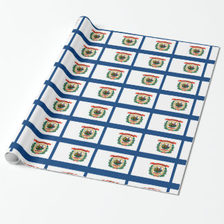 West Virginia Flag Wrapping Paper