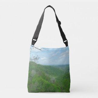 West Virginia Green Mountains Crossbody Bag