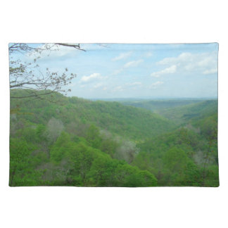 West Virginia Green Mountains Placemat