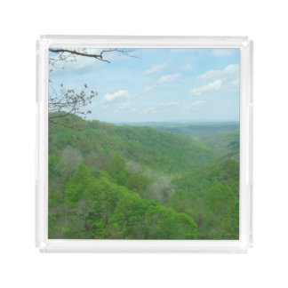 West Virginia Green Mountains Serving Tray