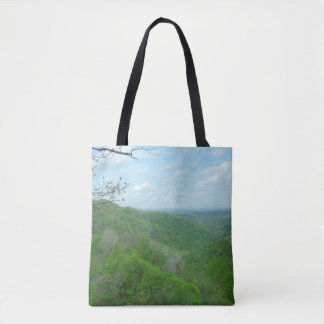 West Virginia Green Mountains Tote Bag