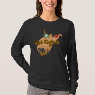 West Virginia Ladies Long Sleeve Shirt
