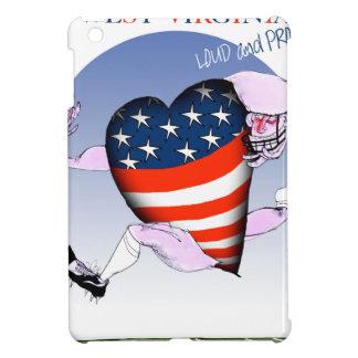 west virginia loud and proud, tony fernandes iPad mini cover