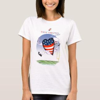 west virginia loud and proud, tony fernandes T-Shirt