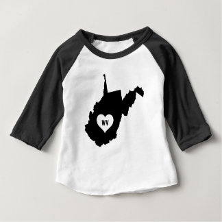 West Virginia Love Baby T-Shirt