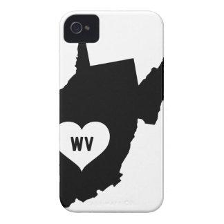 West Virginia Love iPhone 4 Case-Mate Cases