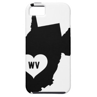 West Virginia Love iPhone 5 Covers