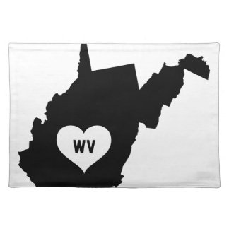 West Virginia Love Placemat