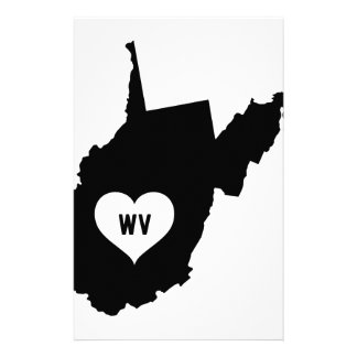 West Virginia Love Stationery