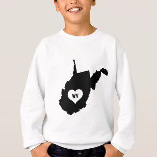 West Virginia Love Sweatshirt