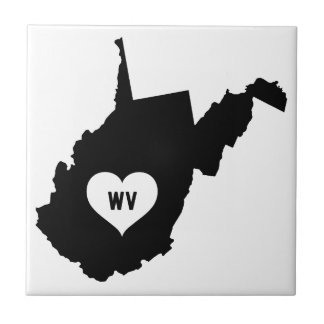 West Virginia Love Tile