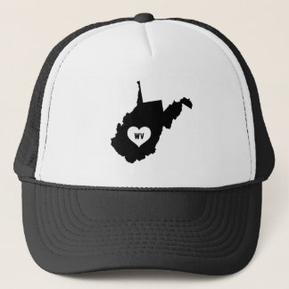 West Virginia Love Trucker Hat