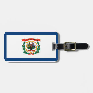 West Virginia Luggage Tag