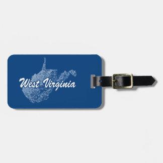 West Virginia Luggage Tag