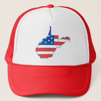 West Virginia Patriotic Hat