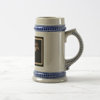 West Virginia Rig Up Camo Beer Stein