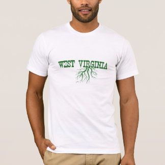 West Virginia Roots Word Art Men's T-Shirt