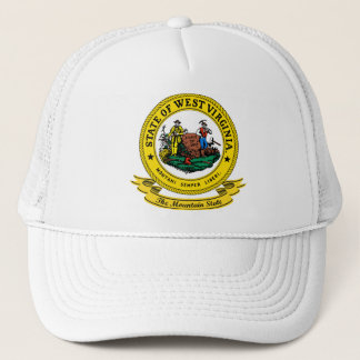 West Virginia Seal Trucker Hat