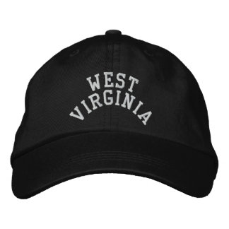West Virginia State Embroidered Embroidered Hat