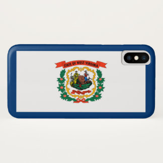 West Virginia state flag iPhone X Case