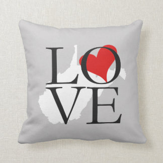 West Virginia State Love Pillow