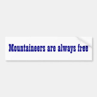 West Virginia State Motto Bumper Sticker