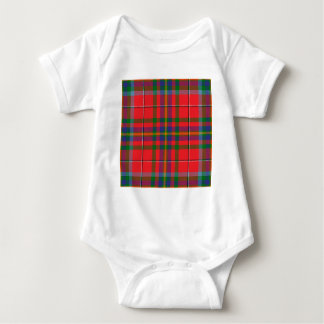 West_Virginia_state_tartan Baby Bodysuit