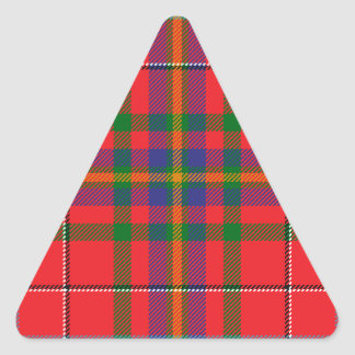 West_Virginia_state_tartan Triangle Sticker