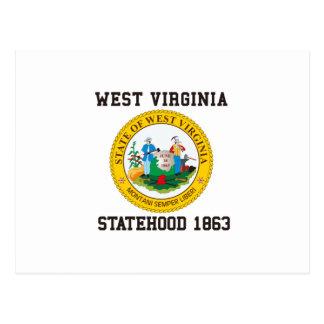 West Virginia Statehood 1863 Postcard
