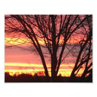 West Virginia Sunset Photographic Print