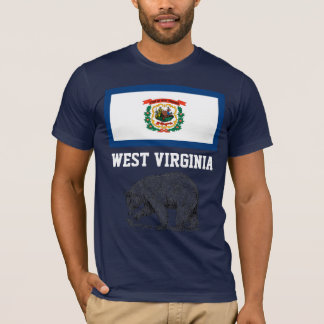 West Virginia: Uh....Just West of Virginia. T-Shirt