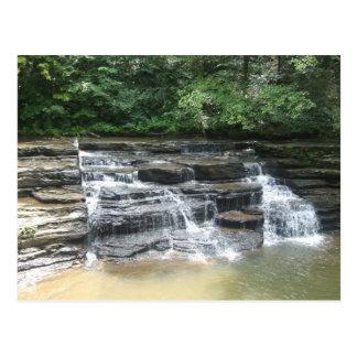 West Virginia Waterfall Postcard