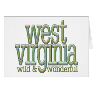West Virginia-wild and wonderful_8 Card