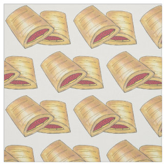 West Virginia WV Pepperoni Roll Snack Junk Food Fabric