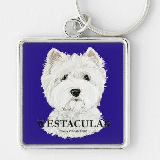 Westacular West Highland White Terrier! Keychain