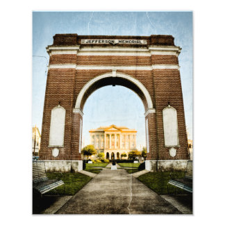Westbank Jefferson Memorial Photo Print