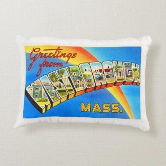 Westborough Massachusetts MA Old Travel Souvenir Decorative Pillow