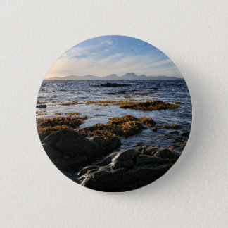Westcoast of Scotland, Isle of Jura 2 Inch Round Button