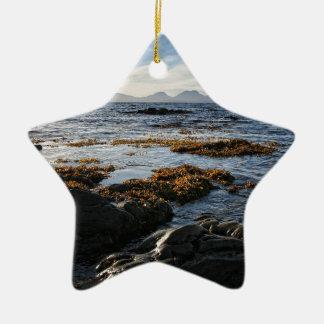 Westcoast of Scotland, Isle of Jura Ceramic Ornament