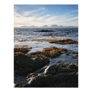 Westcoast of Scotland, Isle of Jura Customized Letterhead
