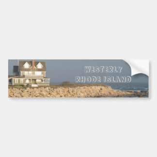 Westerly Rhode Island Bumpersticker Bumper Sticker