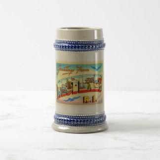 Westerly Rhode Island RI Vintage Travel Souvenir Beer Stein