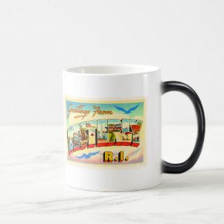 Westerly Rhode Island RI Vintage Travel Souvenir Magic Mug