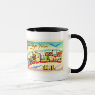 Westerly Rhode Island RI Vintage Travel Souvenir Mug