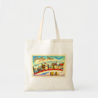Westerly Rhode Island RI Vintage Travel Souvenir Tote Bag