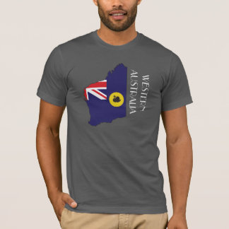 Western Australia Flag-Map Shirt