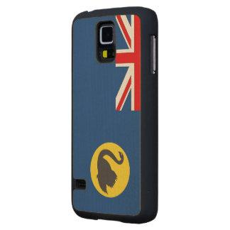 Western Australia Flag Maple Galaxy S5 Slim Case
