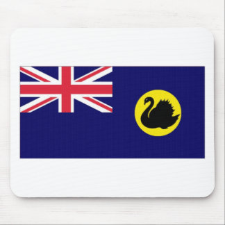 Western Australia Flag Mouse Pads