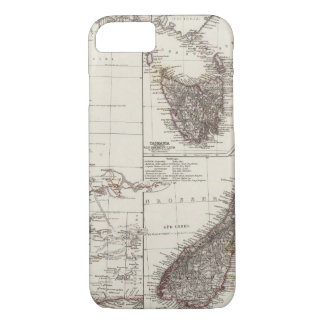 Western Australia Tasmania and New Zealand iPhone 7 Case