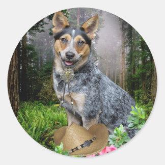 Western Australian Cattle Dog Apparel & Gifts Classic Round Sticker
